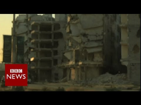 Subscribe to BBC News www.youtube.com/bbcnews Divided between government and rebel halves for nearly two years, the historical Syrian city of Aleppo has suffered devastation on a massive scale....