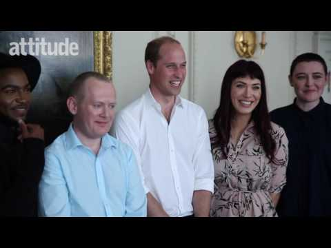 When Prince William met Attitude