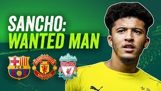 Jadon Sancho transfer: Liverpool, United or Barca? ► Who he suits and why!