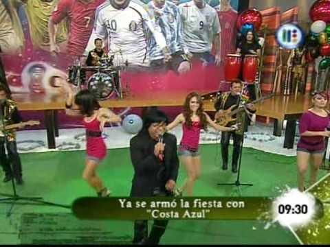 CONJUNTO COSTA AZUL DE RIGO TOVAR EN VENGA LA ALEGRIA. tv azteca