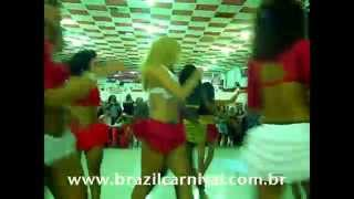 Girls only samba group from Rio Salgueiro Dance Team