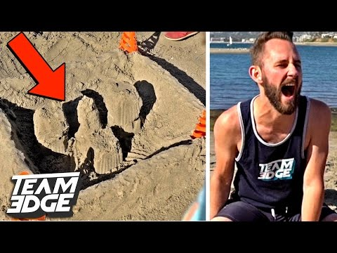 SANDCASTLE CHALLENGE! | Edge Games [Day 4]