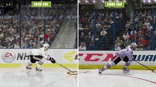 NHL 16 Grafikvergleich | Xbox One & PS4 vs. Xbox 360 & PS3