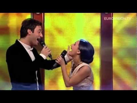 Nodi &amp; Sophie - Waterfall (Georgia) 2013 Eurovision Song Contest