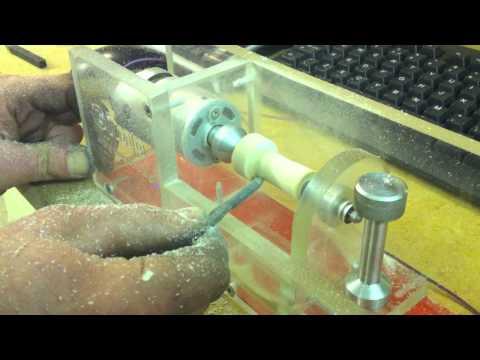CNC Made Micro Wood Turning Lathe