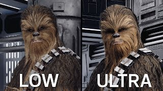 Battlefront II PC - Ultra vs High vs Medium vs Low | Cinematic Comparison