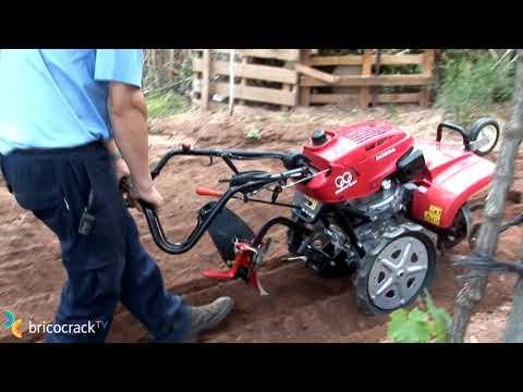 Motoazadas para huerto grande (BricocrackTV)