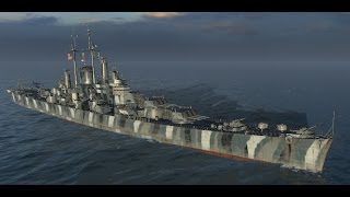 4000 Base XP - 850k+ Credits - Des Moines - Assassin of Cruisers - World of Warships