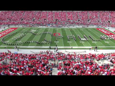 Ohio State Marching Band THE BEATLES! Halftime Show TBDBITL  OSU vs Florida AM 9 21 2013