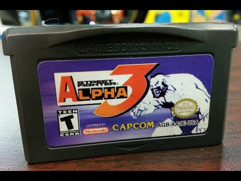 Classic Game Room - STREET FIGHTER ALPHA 3 review for Game Boy Advance