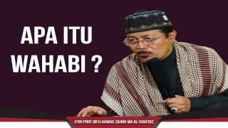 APA ITU WAHABI: Kyai Prof Dr H Ahmad Zahro MA al-Chafidz