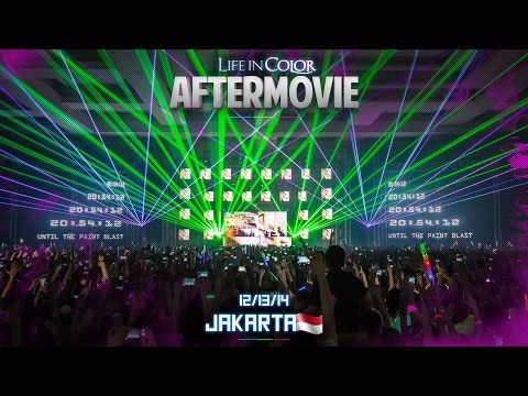 Life In Color - UNLEASH - Jakarta, Indonesia - 13/12/2014 - Official Aftermovie