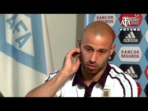 SELECCIÓN - Palpitando la Copa América: Javier Mascherano