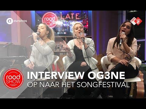 Interview OG3ne over het songfestival