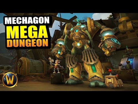 Operation: Mechagon MEGA DUNGEON HARD MODE // World of Warcraft