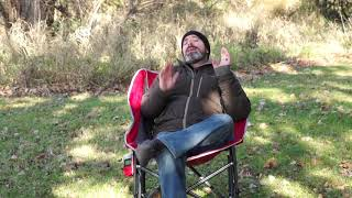 GCI Pod Rocker Camping Chair : Most Comfortable Rocking Camping Chair