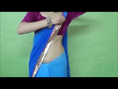 Wear Hot Bollywood Style Saree With Me perfect Drape Of Indian Sari video