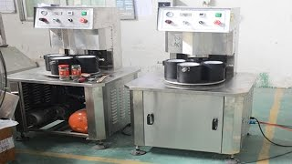 vacuum capping machine three heads semi autoamtic glass jars screw capper máquinas de botella tapado