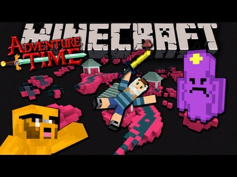 Minecraft: Adventure Time Map Quest with Jake in Ooo Ep.4 Trouble in Lumpy Space