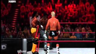 Kofi Kingston & R-Truth (c) vs Jack Swagger and Dolph Ziggler (For Tag Titles,WWE 12)