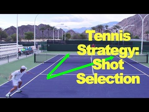 Tennis Strategy: Shot Selection