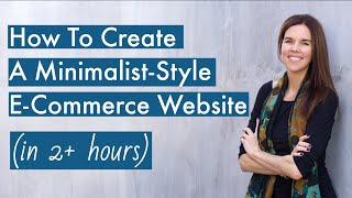 How To Create An ECOMMERCE WordPress Website | Step-By-Step Tutorial For Beginners -- BEAUTIFUL!