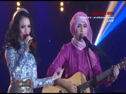 Rossa Feat Ayuvidel - Wanita Yang Kau Pilih (Konser K20 Spesial Rossa) @KOMPASTV