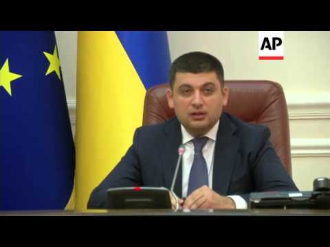Ukraine Deputy PM comments on resignation of Yatsenyuk as prime minister