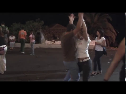 Fiesta in El Sauzal Tenerife Canary Islands.