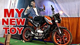 | MY NEW TOY | RIDING A STUNT CUSTOMIZED  KTM - ONLY ONE IN INDIA | CANBEE LIFESTYLE -DIWALI SPECIAL