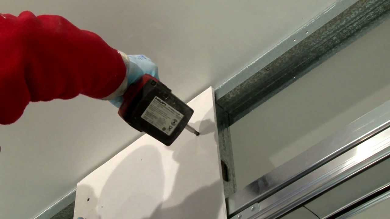 Montaggio lastre di cartongesso syntesis line scorrevole e - Controtelaio porta battente ...
