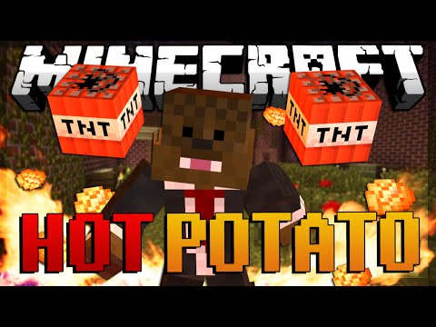 Minecraft Hot Potato (tnt Tag) W  Jeromeasf & Friends! video