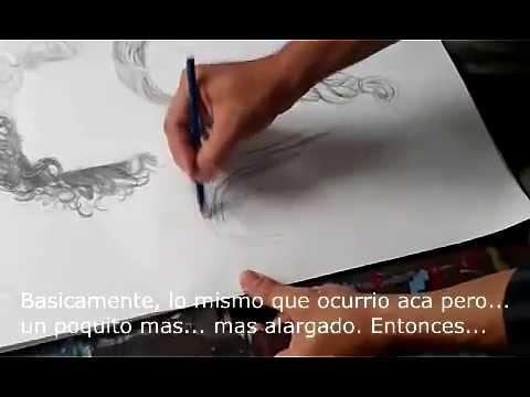 Tres segmentos de la clase de Dibujo II (enero-mayo 2013) Universidad Interamericana de Puerto Rico, Recinto de San San German.
