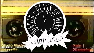 Kelly Clarkson - A Minute + a Glass of Vodka