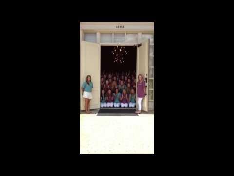 Day One Sorority Door Chants 2014 Texas A&M