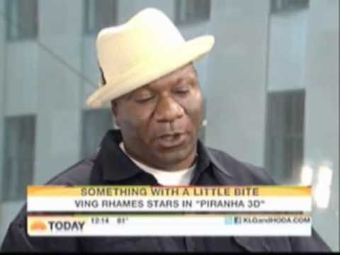 Ving Rhames @ The Today Show