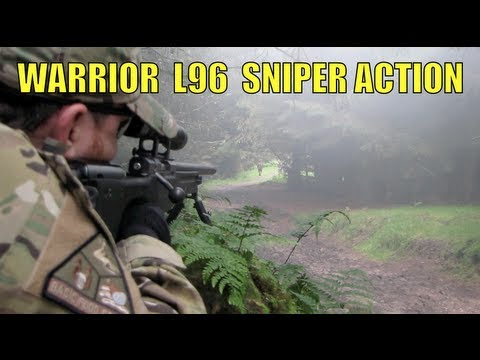 Airsoft War SNIPER Action Warrior L96