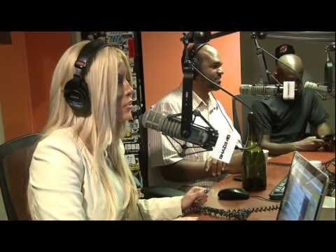 Karina Bradley, LA Dubb and DJ Greg Nitty on the Miss Mimi / Shade 45 / Sirius Satellite Radio Show