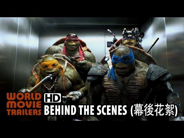 【忍者龜:變種世代】幕後花絮-女主角篇|台灣|派拉蒙 TMNT Behind the Scenes (Taiwan) (2014) HD