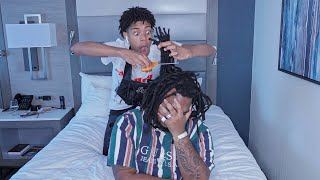 CUTTING MY FRIENDS DREADS OFF (GONE WRONG)