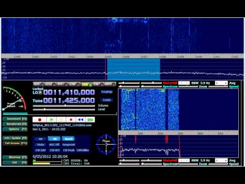 Indonesian Horse Races 11425khz 02 Dec 2011 1120z