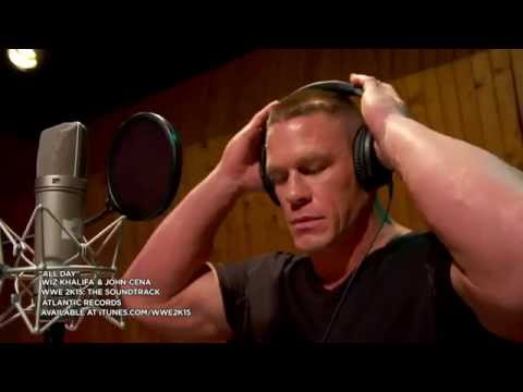 Wwe 2k15: The Soundtrack [wiz Khalifa & John Cena Studio Feature] video