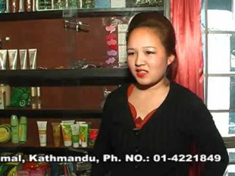 Beauty Parlour &amp  Nail Art Training In Nepal .wmv
