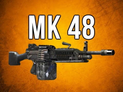 Black Ops 2 In Depth - MK 48 LMG Review