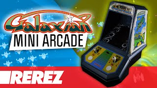 Galaxian 'Coleco Mini Arcade'  Review & Gameplay - Rare Obscure or Retro - Rerez