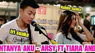 download lagu CINTANYA AKU - ARSY WIDIANTO & TIARA ANDINI (LIRIK) COVER BY NABILA MAHARANI FT. TRI SUAKA mp3