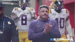 LSU Football 2018: Season + Fiesta Bowl Official Highlight
