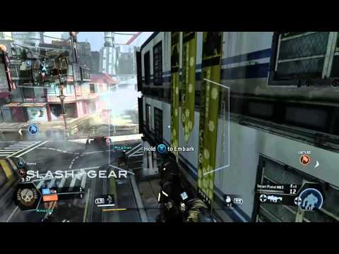 Titanfall gameplay: Capture the Flag