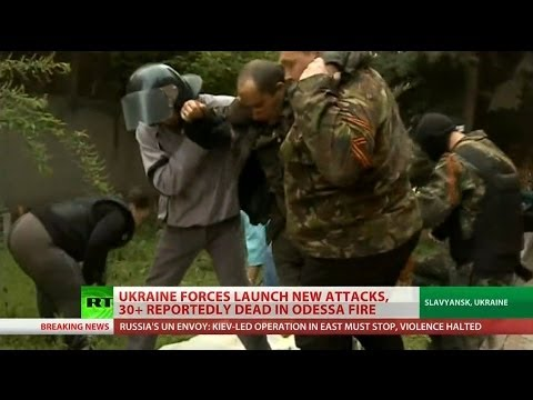 Dozens killed in eastern Ukraine violence