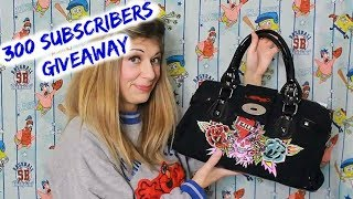 300 Subscribers GIVEAWAY! (Purse/Bag Thrift Haul - OPEN) | U.S. & INT'L